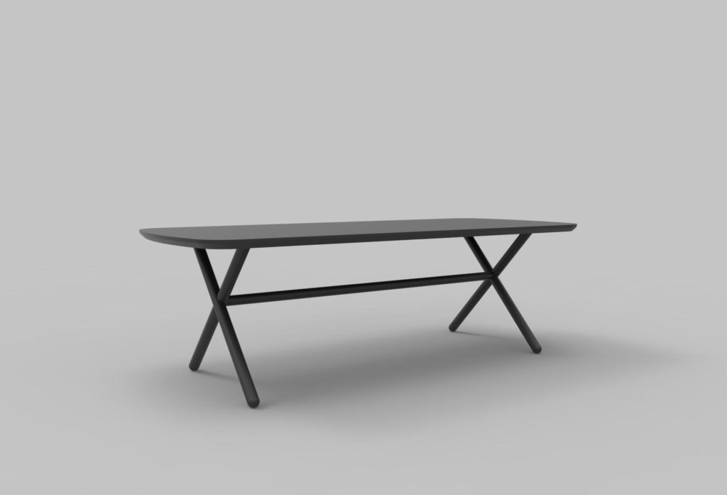 new miniforms dining table