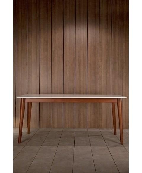 tema white dining table kann