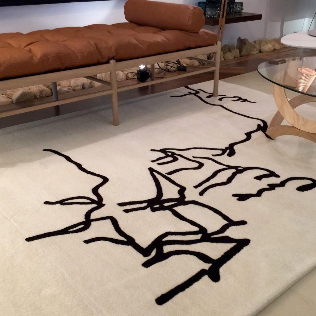 nanimarquina dibujo tinta design rug