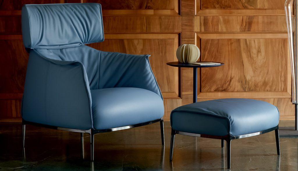 archibald armchair poltrona frau