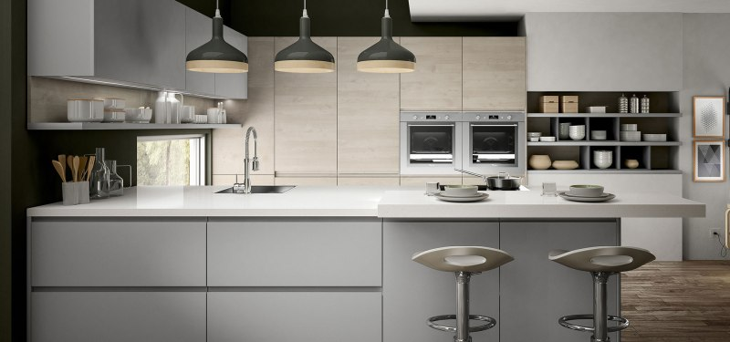 modern grey kitchen img1