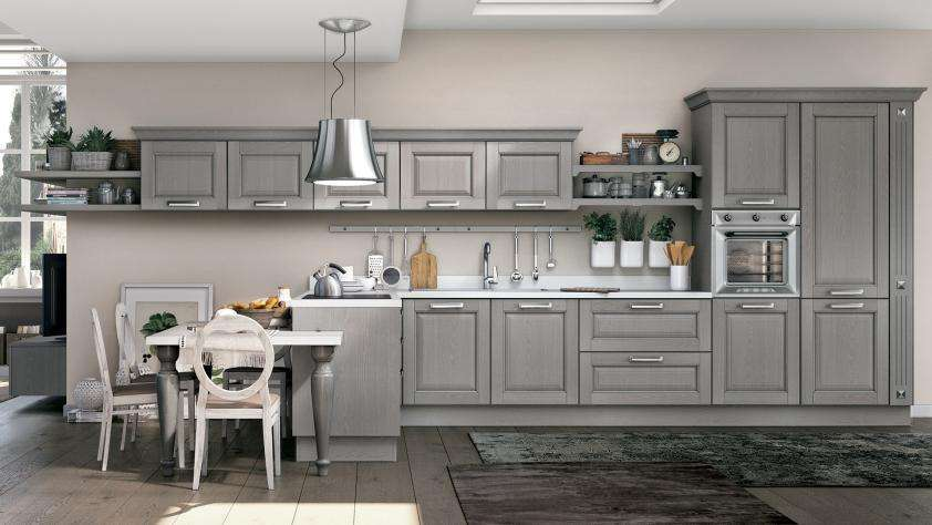 modern grey kitchen img2