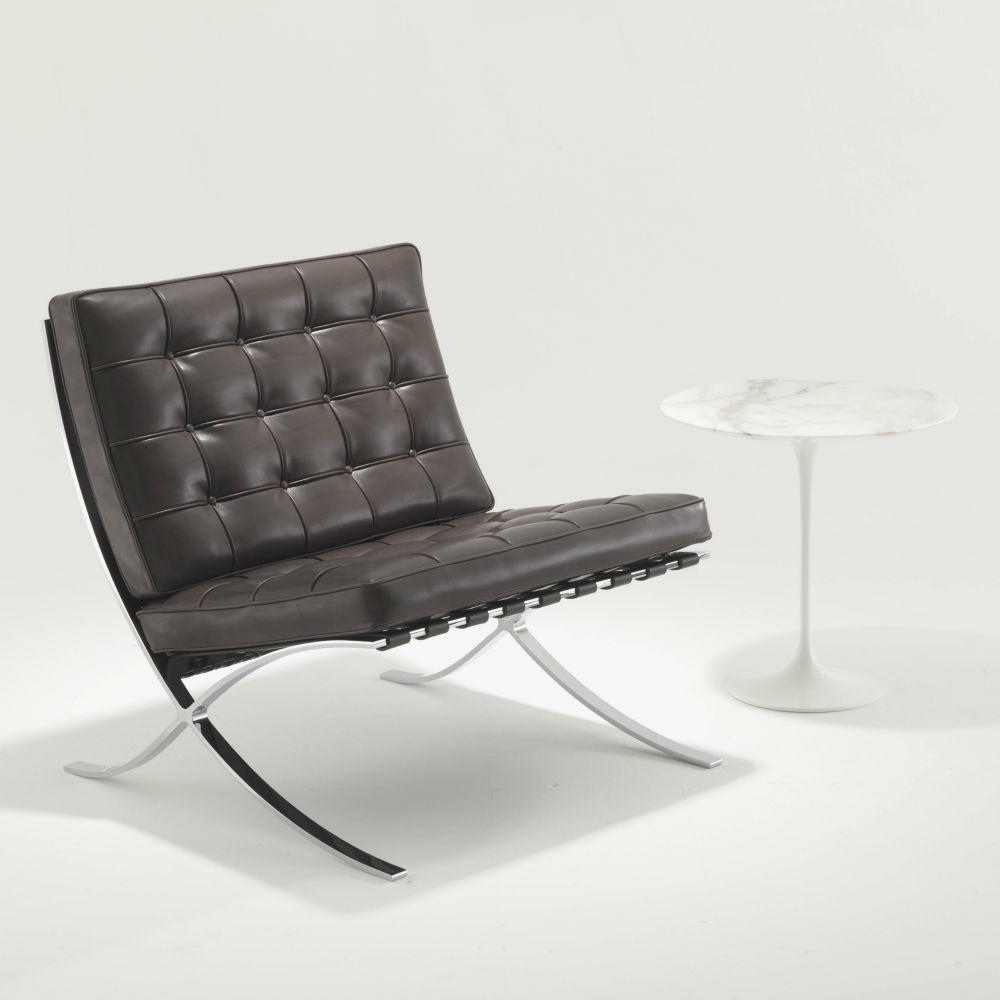 knoll barcelona relax chair