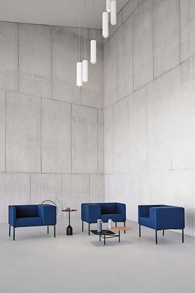 brix armchair viccarbe