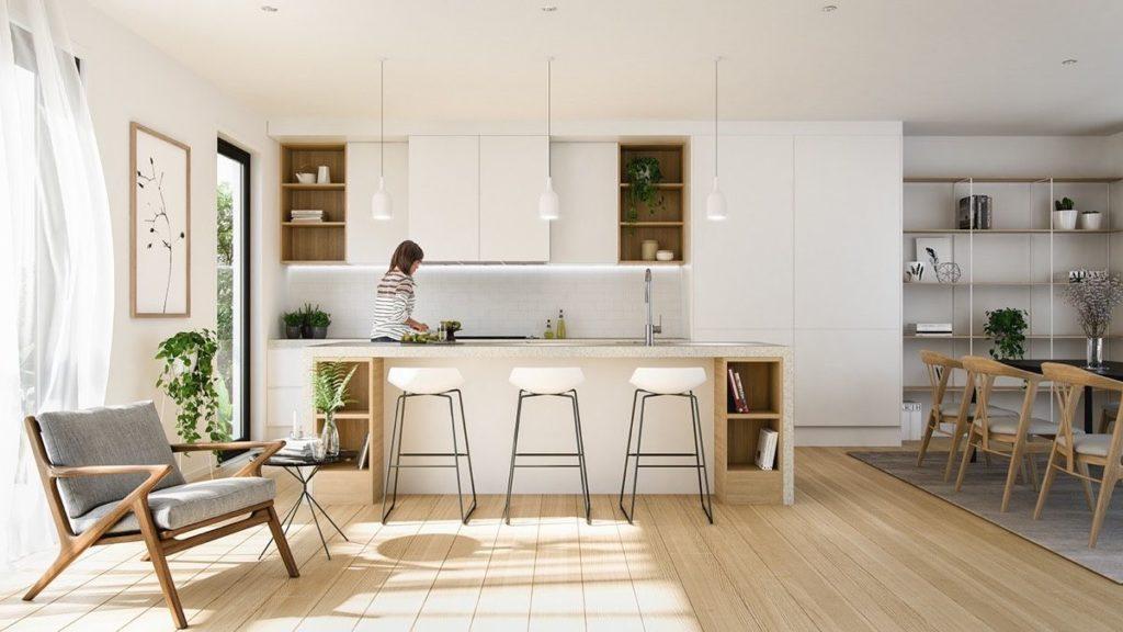 scandinavian style kitchen img1