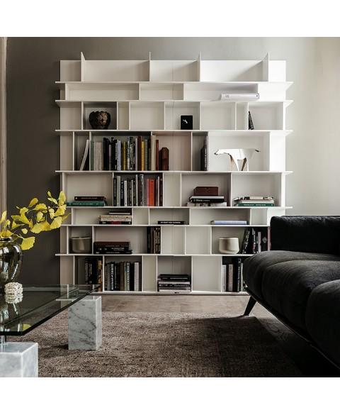 wally bookcase cattelan italia