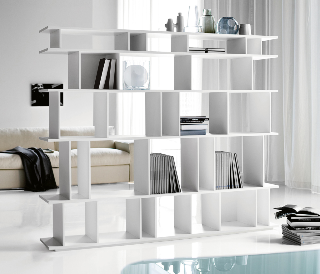 wally bookcase cattelan italia