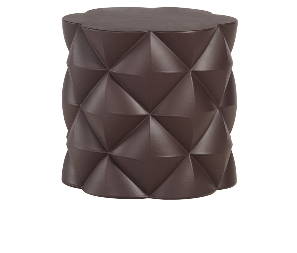 sixinch diamond pouf 1