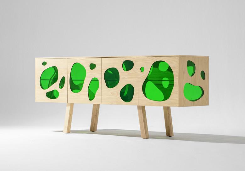 barcelona design aquario cabinet