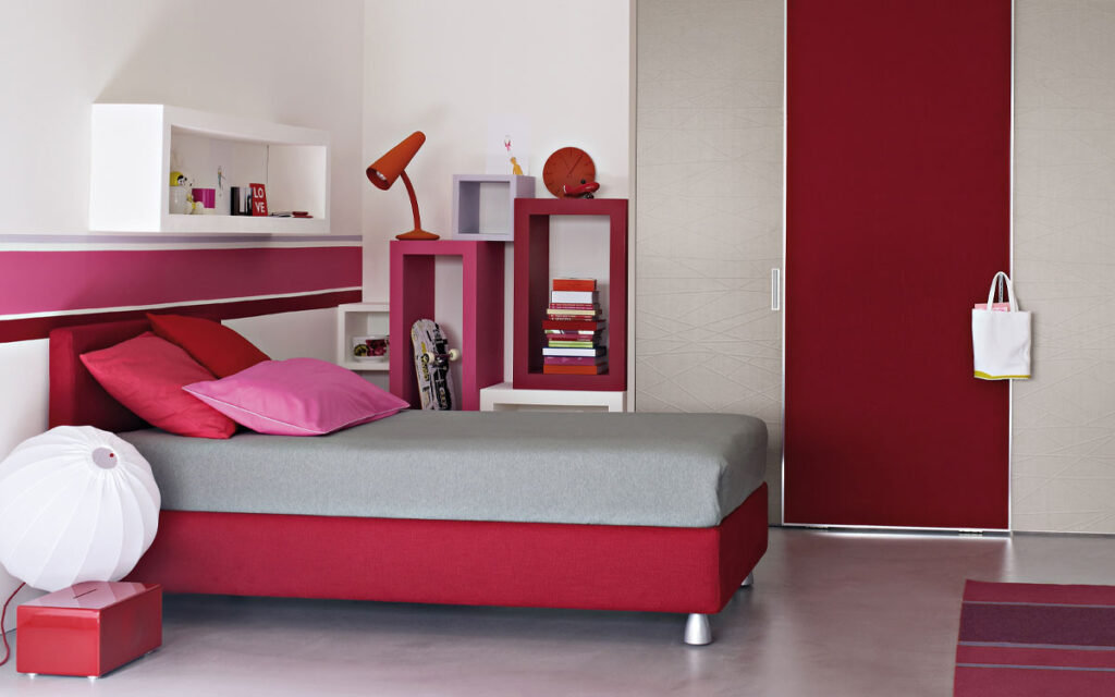 flou notturno 2 bed