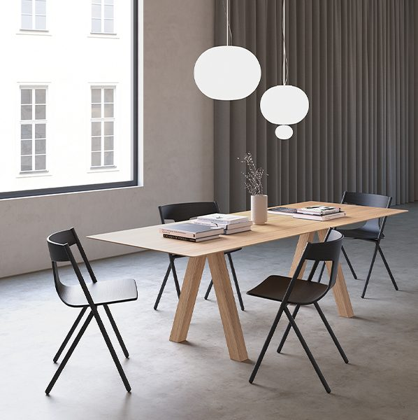viccarbe trestle table