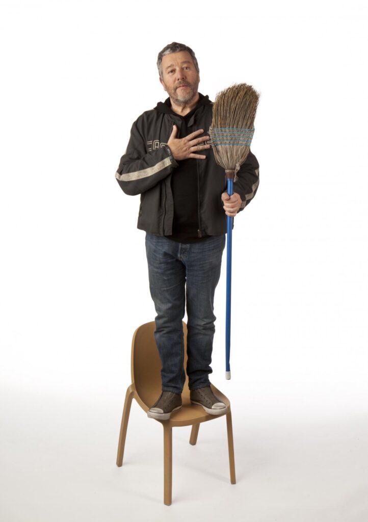 Emeco broom chair