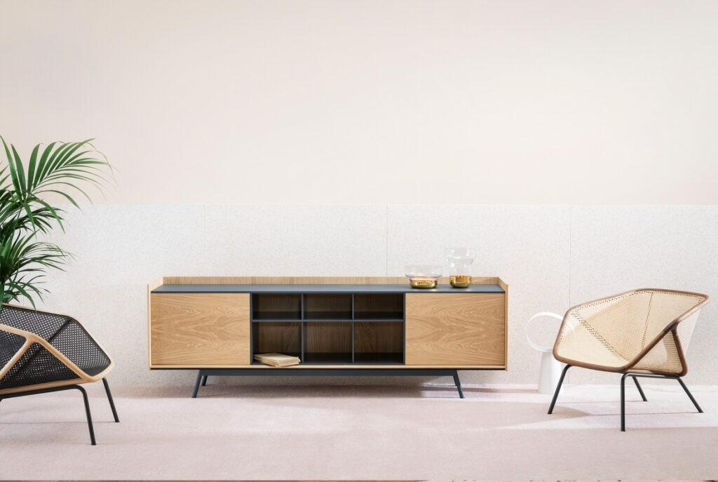 Miniforms edge cabinet