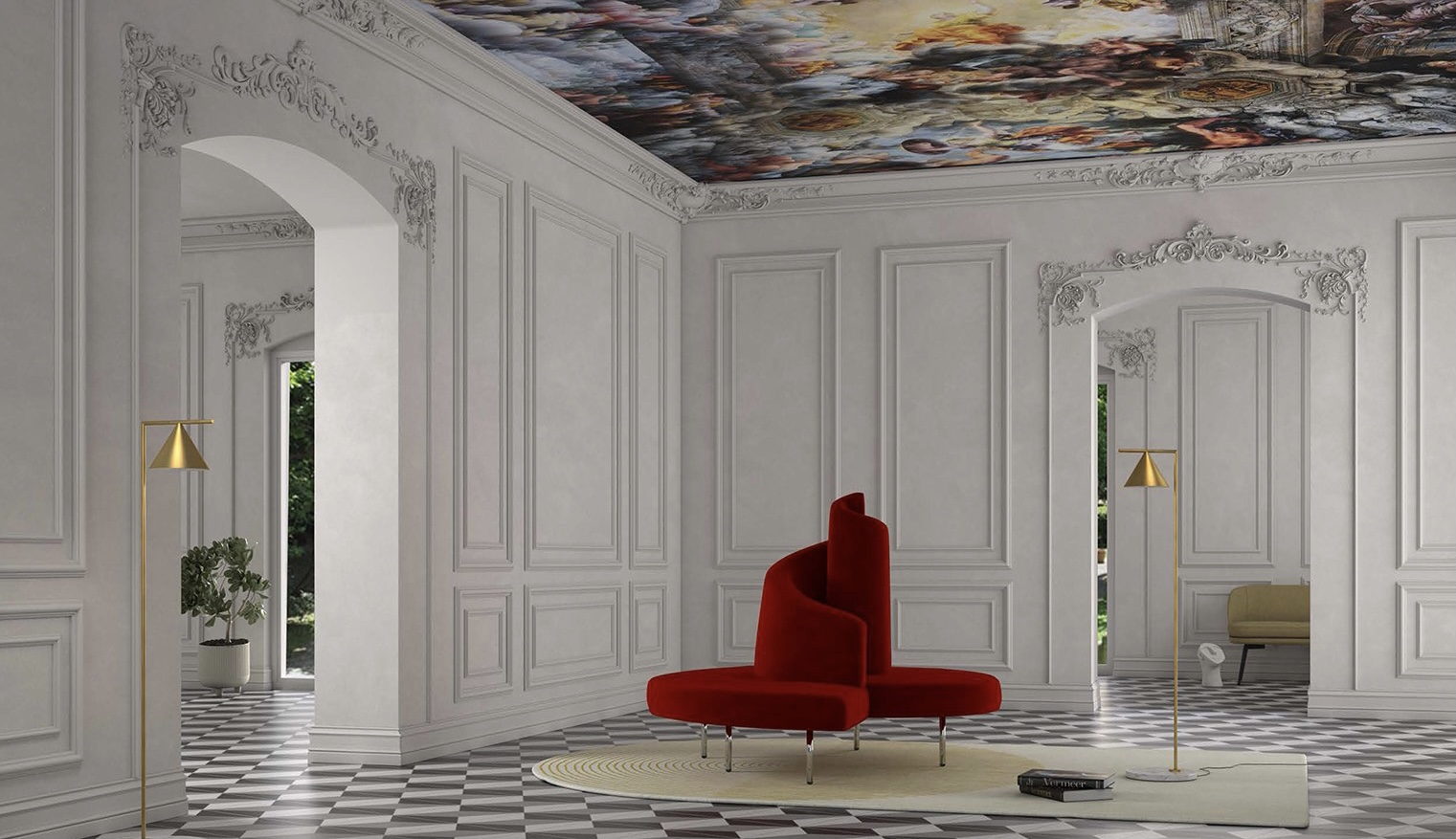 Decorating with red color 4