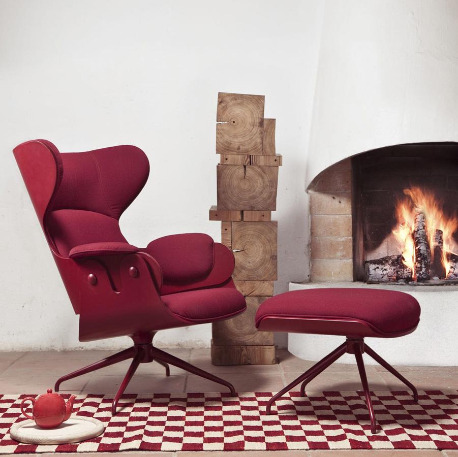Barcelona design lounger armchair